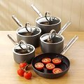 Professional Cookware Company: ProCook T304 five-piece anodised cookware set